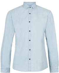 Topman Selected Homme Blue Shirt