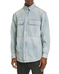 Fear Of God Vented Denim Shirt Jacket