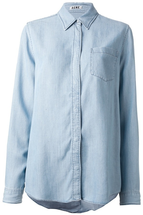 Acne Wave Denim Shirt