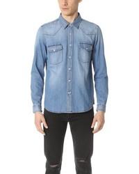Ami Western Denim Shirt