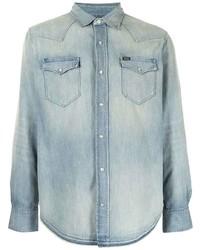 Polo Ralph Lauren Western Faded Effect Denim Shirt