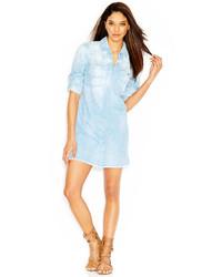 Light Blue Denim Shirtdress