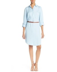 Belted tencel shirtdress medium 517616
