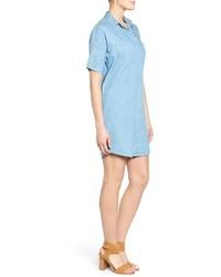 62e0e618c0 ... Madewell Courier Denim Shirtdress ...