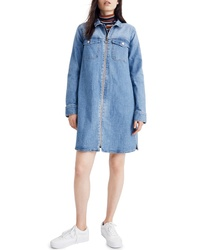 Madewell Front Zip Shirtdress