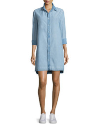 Rag & Bone Jean Beau Button Front Denim Shirtdress Kenton