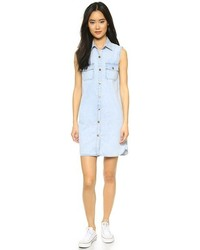 Current/Elliott The Sleeveless Perfect Shirtdress