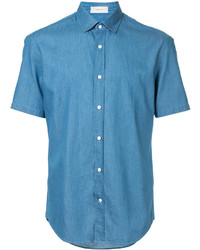 Cerruti 1881 Shortsleeved Denim Shirt