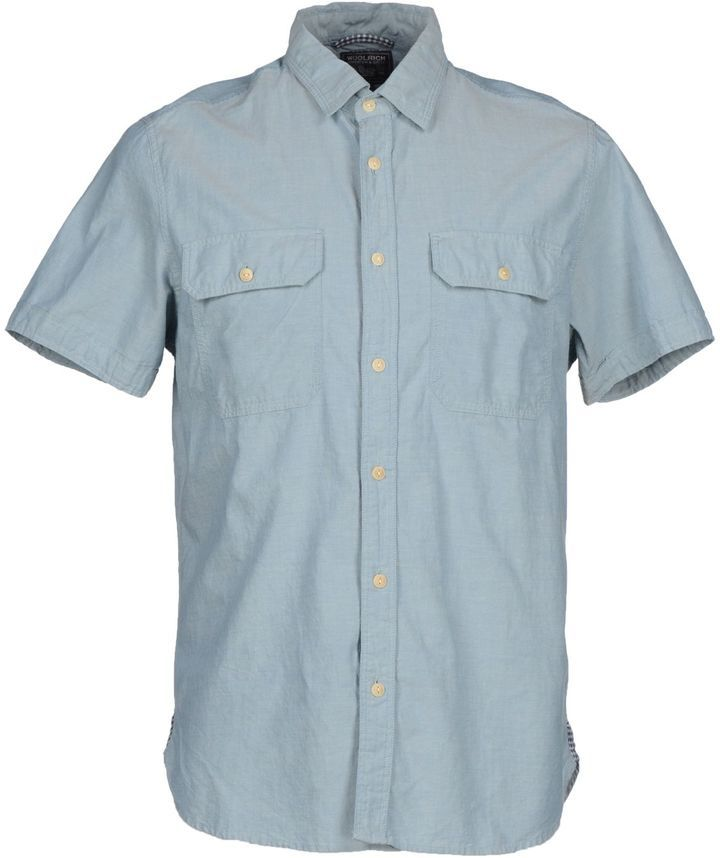 7626279975 Woolrich Denim Shirts