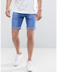 Blend of America Blend Bright Blue Denim Shorts
