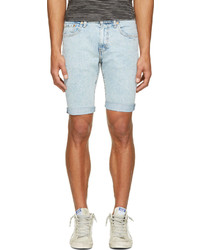 Levi's Blue 511 Slim Cut Off Shorts