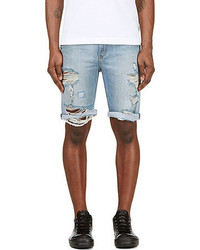 Levi's Blue Denim 508 Tangled Blues Shorts