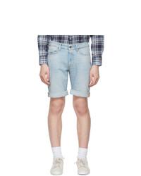 Tiger of Sweden Jeans Blue Denim Ash Shorts