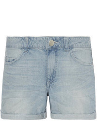 Dorothy Perkins Light Wash Boy Shorts
