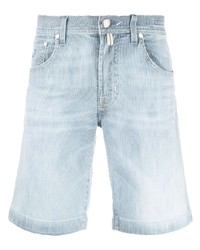 Jacob Cohen Faded Denim Shorts