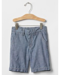 Gap 1969 Chambray Flat Front Shorts