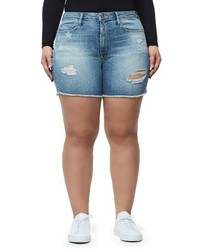 High waist denim cutoff shorts medium 3992504