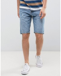 Jack and Jones Jack Jones Intelligence Denim Shorts In Regular Fit