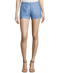 Joie Merci Chambray Linen Shorts