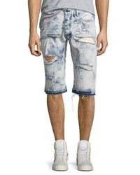 PRPS Joy Ride Bleached Shorts Light Blue