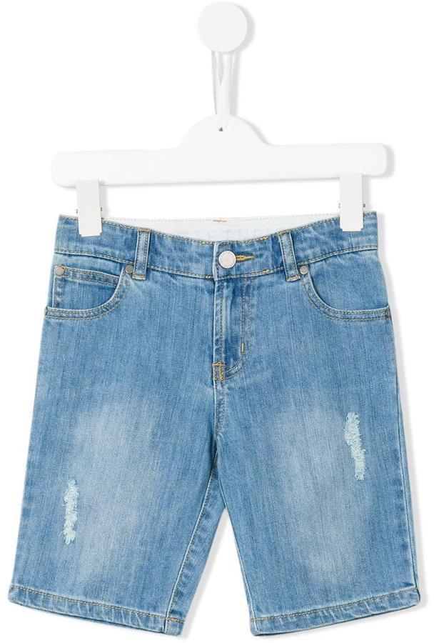 Stella McCartney Kids Denim Moses Shorts