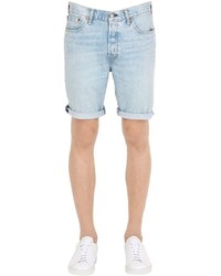 Levi s 501 cotton denim shorts medium 1155239