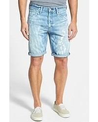 Levi's 508 Tapered Fit Denim Shorts Pixilated Light 36