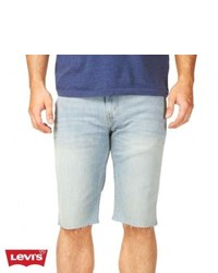 Levis 511 11 Cut Off Denim Shorts Bleachrock
