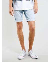 Men's Light Blue Denim Shorts by Topman | Men's Fashion