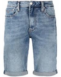 Calvin Klein Jeans Light Wash Denim Shorts