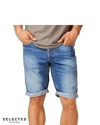 Selected Cash 920 Denim Shorts Denim