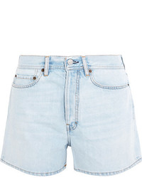 Acne Studios Swamp Denim Shorts Light Denim