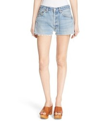 The short reconstructed denim shorts medium 3752976