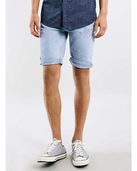 Men's Light Blue Denim Shorts by Topman | Men's Fashion
