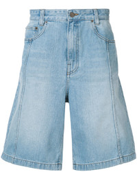 Juun.J Washed Denim Shorts