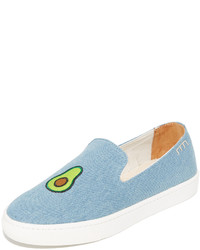 Avocado slip on sneakers medium 964180