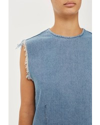 Topshop Denim Tank Top
