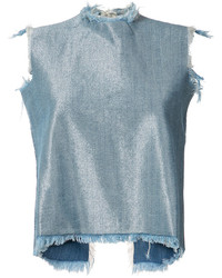 MARQUES ALMEIDA Marquesalmeida Denim Tank Top