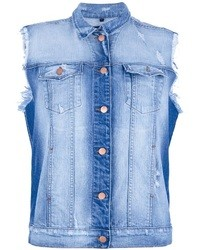 J Brand Sleeveless Denim Jacket