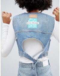 Weekday Limited Collection Denim Vest With Back Detail