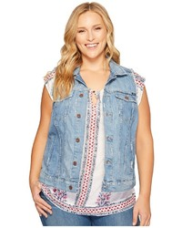 Plus size plus tomboy trucker vest vest medium 5079244