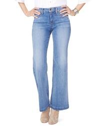 NYDJ Wide Leg Clean Hem Jeans