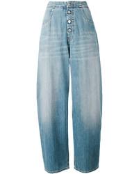MM6 MAISON MARGIELA Wide Leg Denim Pants