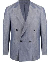 Caruso Double Breasted Tailored Blazer