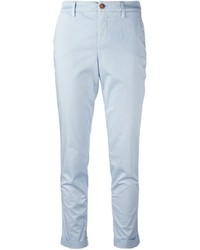 Fay Cropped Chino Trousers