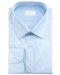 Brioni Barrel Cuff Dress Shirt Light Blue