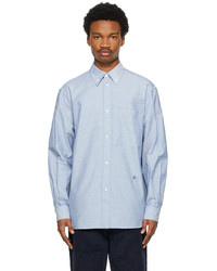 Loewe Blue Cotton Oxford Shirt