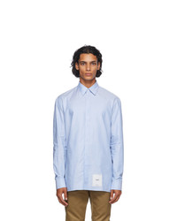 Maison Margiela Blue Oxford Shirt