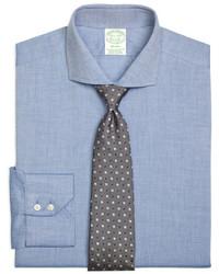 Brooks Brothers Regent Fit Heathered Dress Shirt