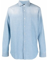 Z Zegna Button Down Fitted Shirt